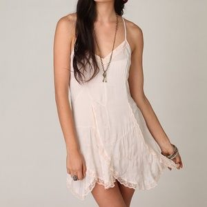 Free People Original Intimates Subtle Peach Slip